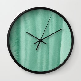 151208 18.Forest Green Wall Clock