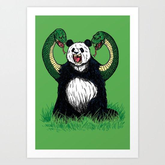 PANDAVIPERARMS Art Print