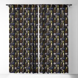 American Gothic Halloween Blackout Curtain
