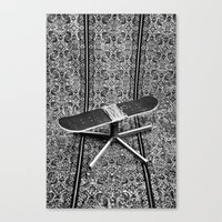 fries Canvas Prints featuring Fries by AsoMohammadi