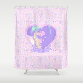 Commander Daddy Shower Curtain