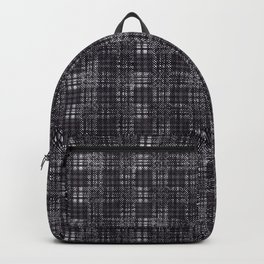 Classical dark cell. Backpack