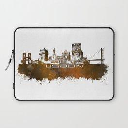 Lisbon brown art Laptop Sleeve