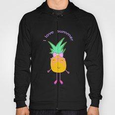 Cute Hipster Pineapple Hoody