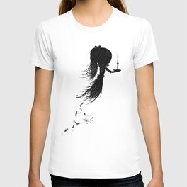 Little Soul and Candle by Carine-M T-shirt