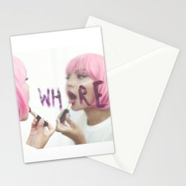 Wh re Stationery Cards