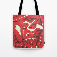 china Tote Bags featuring China by CiBi