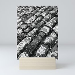 Roof tiles Mini Art Print