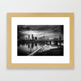 Dismal City Framed Art Print