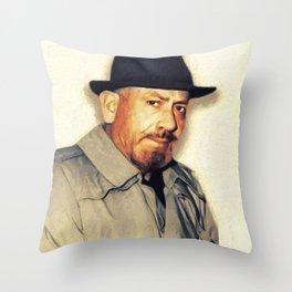 John Steinbeck, Literary Legend Throw Pillow