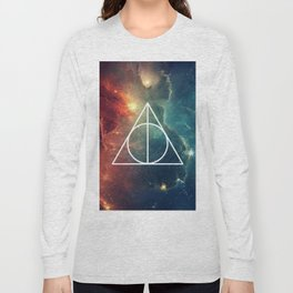 Deathly Hallows Nebula HP Long Sleeve T-shirt