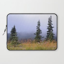 High Upon A Mountain Laptop Sleeve