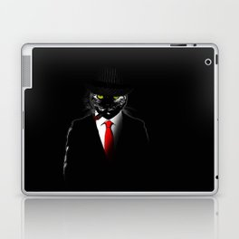 Mobster Cat Laptop & iPad Skin