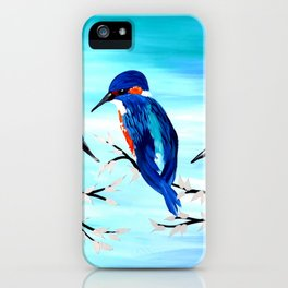 Kingishers iPhone Case