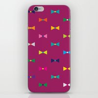 bows iPhone & iPod Skins featuring Bows  by hollyakkerman