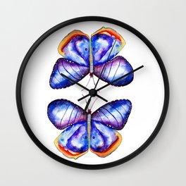 Butterflies meditation Wall Clock
