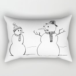 A Snowflake With Possibilities Rectangular Pillow