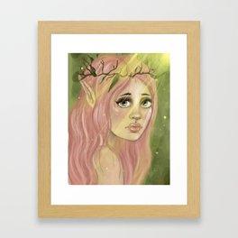 Forest Nymph Framed Art Print