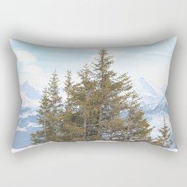 Wunderfull Snow Mountain(s) 7 Rectangular Pillow