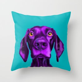 The Dogs: Buddy 2 Throw Pillow
