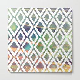 Noria and geometric forms Metal Print