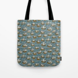 Nautical but nice. Tote Bag