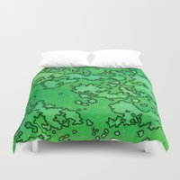 ireland Duvet Covers featuring Ireland by Andrea Gingerich