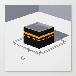 Kaaba Canvas Print