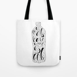 Hydrate Yourself Lettering Tote Bag