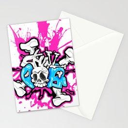 Skull Pops Stationery Cards