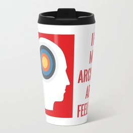 I HAVE MIXED ARCHERY ABOUT FEELINGS Travel Mug