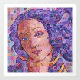 Variations On Botticelli's Venus – No. 2 Art Print