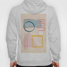 Minimal Abstrac Line Shapes 7 Hoody