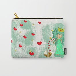 green princess Carry-All Pouch