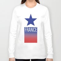 france Long Sleeve T-shirts featuring FRANCE by Andrew O'Rourke
