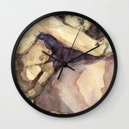 Paul in the Dark Wall Clock