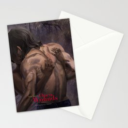 Open Wounds (Damaged Soul Book 2) Stationery Cards