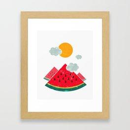 eatventure time! Framed Art Print