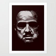 Marlon Art Print