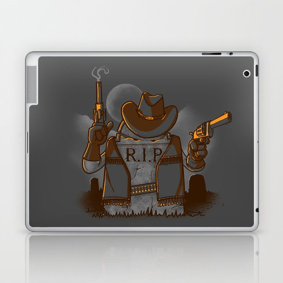 Tombstoned Laptop & iPad Skin