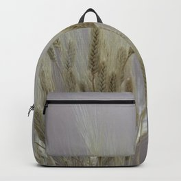 wheat ears in the farm Backpack