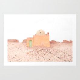 Desert Rose III - Morocco Art Print