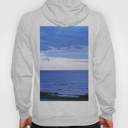 Blue on Blue at the River Mouth Hoody