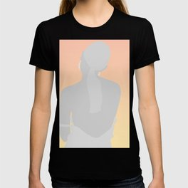 WOMAN - back, dreamy look T-shirt