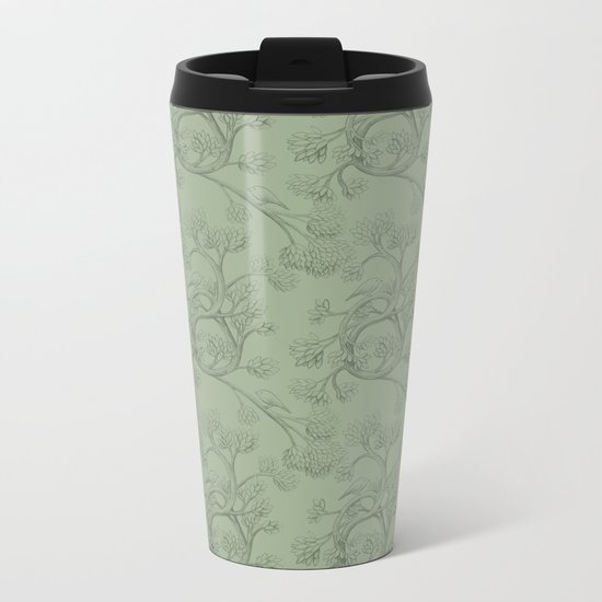 The Night Gardener - Endpapers Metal Travel Mug