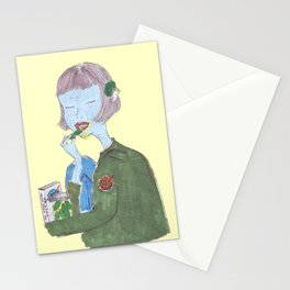 The girl from NASA Stationery Cards