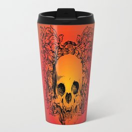 Skull Graphic Travel Mug