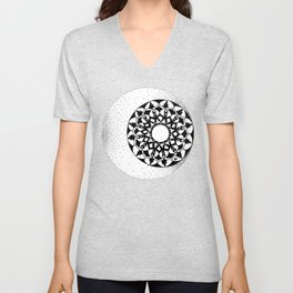 The Moon and Stars Unisex V-Neck