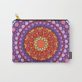 Mandala of Zest Carry-All Pouch