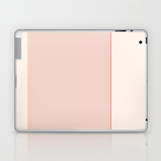 Subtle Spring Color Block Laptop & iPad Skin